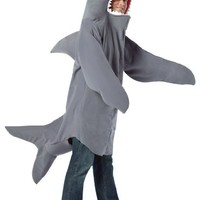 Rasta Imposta Shark Adult Costume One-Size (Standard) Gray