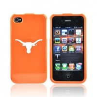 TEXAS LONGHORNS For NCAA Apple iPhone 4 Hard Case Cover:Amazon:Cell Phones & Accessories