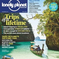 Lonely Planet Magazine UK – Food & Travel Magazine Annual Subscription & Single Issue – Magazine Cafe