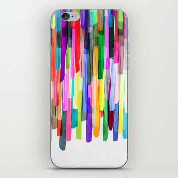 Colorful Stripes 4 iPhone & iPod Skin by Mareike Böhmer Graphics