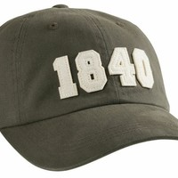1840 (Bourbon Founding Year) Hat in Olive by Southern Proper - FINAL SALE