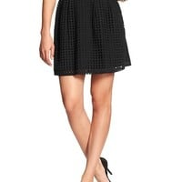Banana Republic Womens Factory Eyelet Skirt