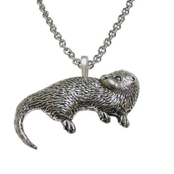 Otter Pendant Necklace