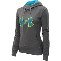 UNDER ARMOUR Women's Armour Fleece Storm Embroidered Big Logo Hoodie