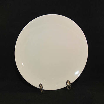 Vintage Mid Century Gladding McBean & Company Franciscan Fine China Encanto Dinner Plate (c. 1950's) Cream Color, Simple Elegance