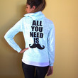 All You Need is 'Stache Hoodie - Mint