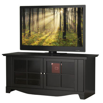 Kenwood 2-Door 56-inch TV Stand - Black