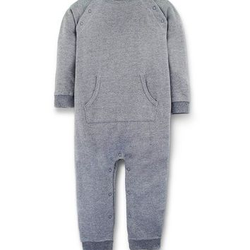Heather Gray Rory Organic Cotton Romper - Infant