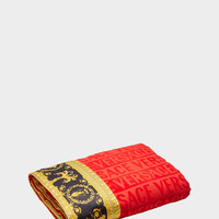 Versace I ♥ Baroque Jacquard Bath Towel - Home Collection | US Online Store