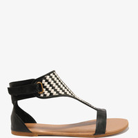 Basketweave Sandals | FOREVER 21 - 2000049713