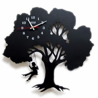 Tree Design Wall Clock - Where Childhood Memory Gets Inspired