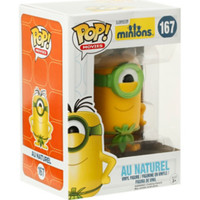 Funko Minions Pop! Movies Au Naturel Vinyl Figure