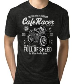 'COOL CAFERACER MOTORCYCLE' T-Shirt by Super3