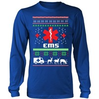 EMS Ugly Christmas Sweater - Long Sleeve