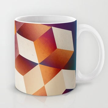 Oil Slick Cubes Mug by DuckyB (Brandi)