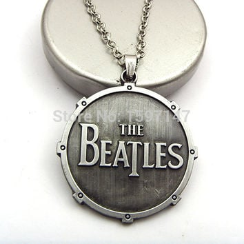 New Fashion Rock Band The Beatles Necklace Pendants Fashion Necklace for Women Men