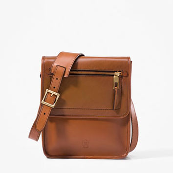ZIPPED MESSENGER BAG - Bags - MEN - United States