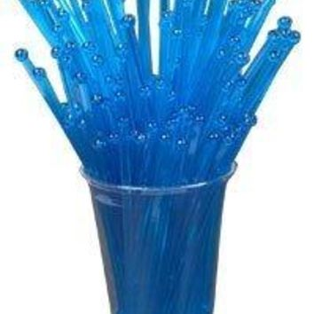 BarConic Stirrers with Ball Head  Blue Pack of 500