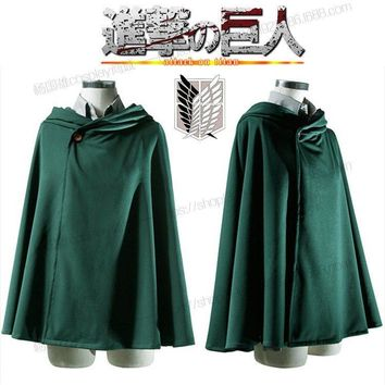 Cool Attack on Titan COSPLAY anime  Sweater investigates the Cape of the regiment cloak of dom AT_90_11