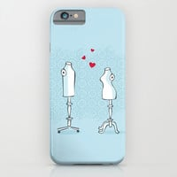 mr and mrs iPhone & iPod Case by Budi Satria Kwan