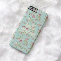 Hello Vintage floral pattern shabby rose chic