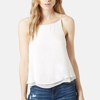 Women's Topshop Double Layer Camisole,