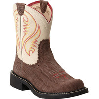 10014078 Ariat Women's Fatbaby Heritage Western from Bootbay, Internet's Best Selection of Work, Outdoor, Western Boots and Shoes.