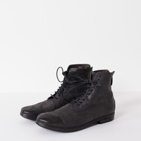 Listello Lace-Up Boot in Black