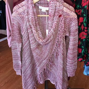Cherry Fringe Cardigan