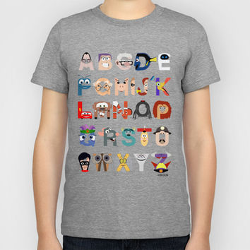 P is for Pixar (Pixar Alphabet) Kids T-Shirt by Mike Boon | Society6