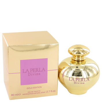 La Perla Divina Gold By Ungaro Eau De Toilette Spray 2.7 Oz