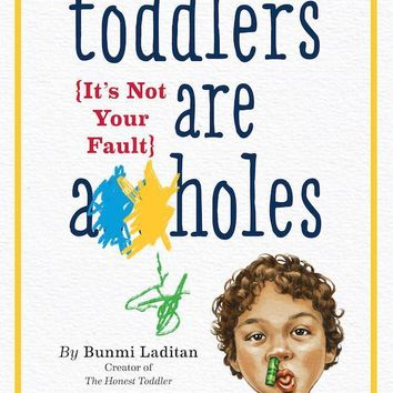 Toddlers Are A**holes Book