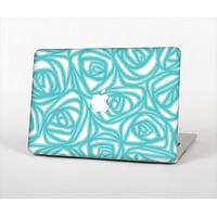 The Vector Subtle Blues Pattern Skin Set for the Apple MacBook Air 11""