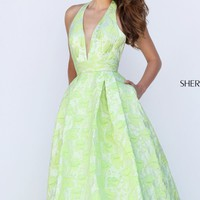 Halter Neck Ball Gown by Sherri Hill