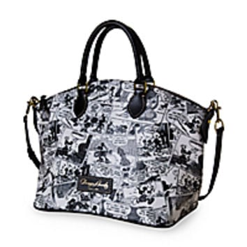 Mickey Mouse Comics Satchel by Dooney & Bourke