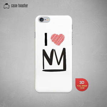 "I heart New York crown- iphone 6 case (4.7""), iphone 6 plus case (5.5""), iphone 5C case, iphone 5S case, iphone 4S case"