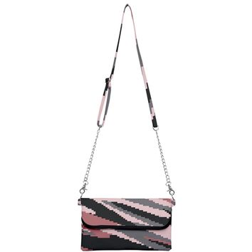Digi Camo Pink Mini Crossbody Handbag