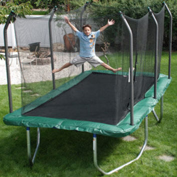 Walmart: Skywalker 8'x14' Rectangular Trampoline & Safety Combo