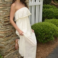 Beach Combers dress, ivory | Chapter 2 Boutique