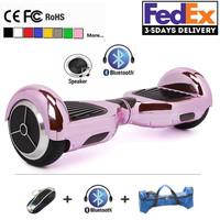 2017 Chrome Hoverboard  Electric Scooter hover boards electric self balancing Scooter Smart wheel unicycle Standing Skateboard