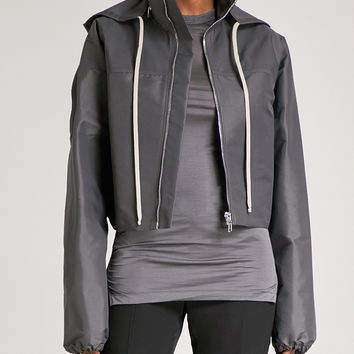 RICK OWENS Cropped shell jacket