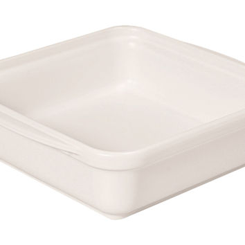 Square Baking Dish, White, Bakers & Casseroles