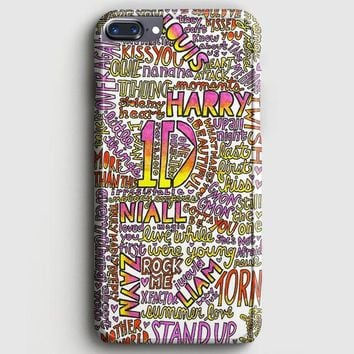 One Direction Harry Styles Tattoos iPhone 7 Plus Case