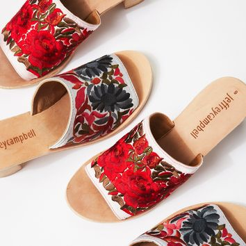 Free People Riviera Embroidered Mule