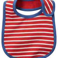 Striped Teething Bib