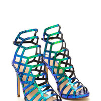 Lattice Be Friends Holographic Heels