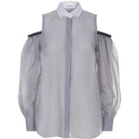 Brunello Cucinelli Open Shoulder Blouse | Harrods.com