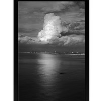 Future Media Development Wall Art, Giant Cloud Framed Canvas Print by Ashley Beck