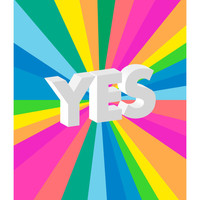 YES Original Art Print