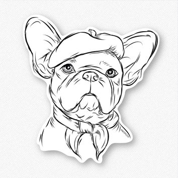 Pierre the French Bulldog - Decal Sticker